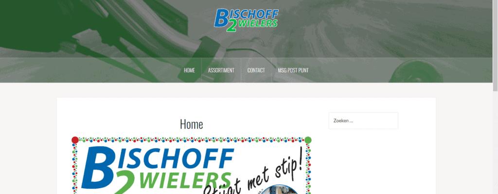Website voor Bischoff 2 Wielers