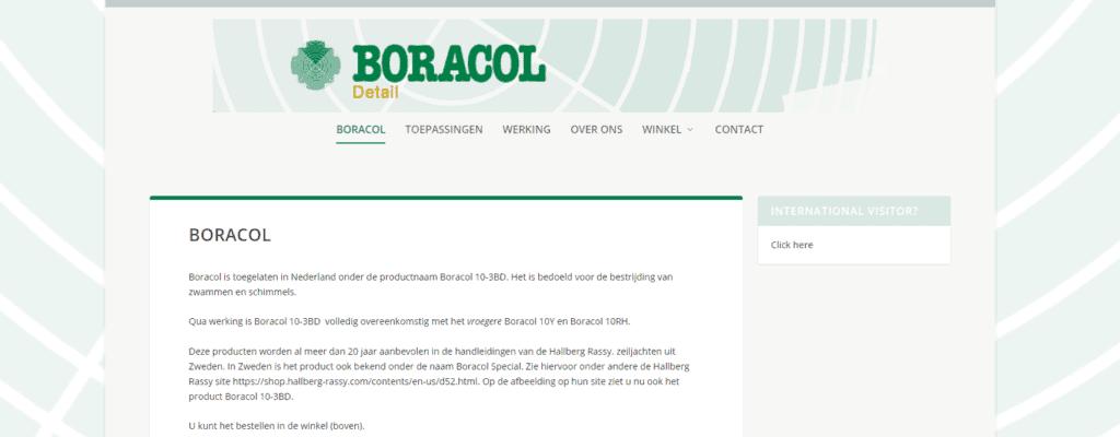 Website voor Onderhout BV